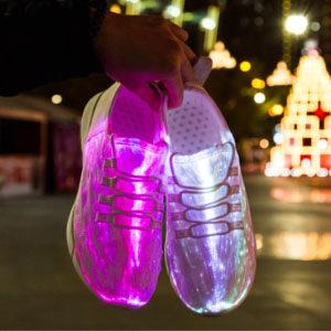 led light up shoes - winner picker