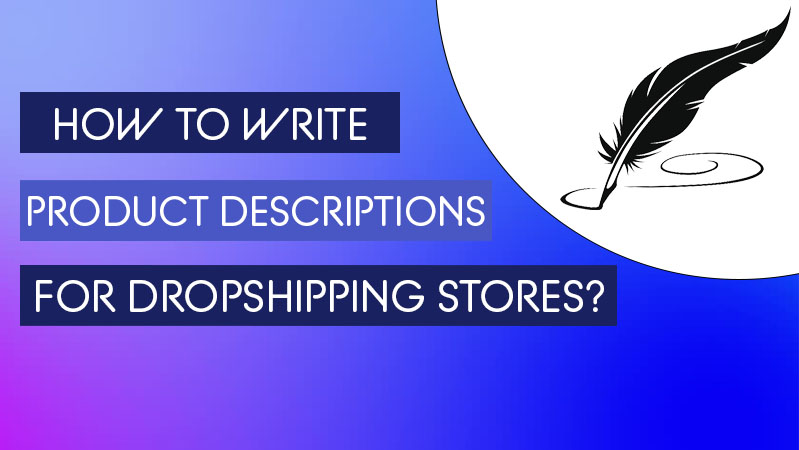 how to write product description for dropshipping products - winner picker